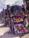 Route 66 Cadillac Ranch No.2 Royalty Free Stock Photo