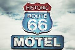 Route 66 de V.S. royalty-vrije stock afbeeldingen