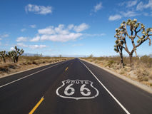 Route 66 Mojave Desert stock photos