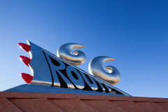 Route 66 Monument Stock Photography