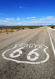 Route 66 roadway Royalty Free Stock Images