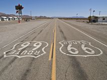 Route 66 at Roys Royalty Free Stock Photo