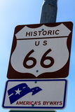 Route 66 Signs Stock Image