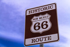 Route 66 Signs Stock Photos