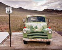 Route 66 Truck portrait Royalty Free Stock Images