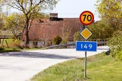 Route 149 Photographie stock libre de droits