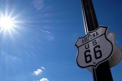 route 66 Royaltyfri Fotografi