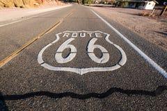 Route 66 Royalty-vrije Stock Foto's