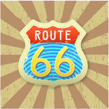 Route 66 Royalty-vrije Stock Fotografie