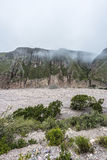 Route 13 aan Iruya in Salta-Provincie, Argentinië Royalty-vrije Stock Fotografie