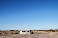 Route 66 abandonadcamparesläp Royaltyfria Foton