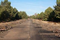 Route abandonnée Photographie stock libre de droits