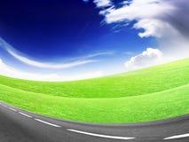 route abstraite Photos libres de droits
