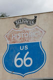 The Route 66 Royalty Free Stock Photos