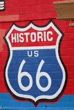 The Route 66 Royalty Free Stock Photography
