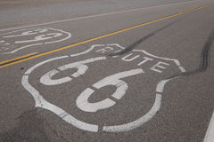 The Route 66 Royalty Free Stock Photo