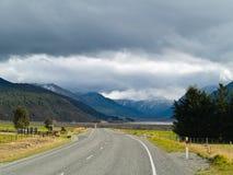 Route alpestre scénique Images stock