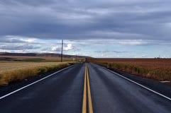 Route arrière images stock