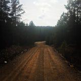 Route arrière photos stock