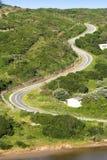 Route ascendante Photos stock