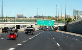 Route 85, Atlanta, GA. Royalty Free Stock Photo