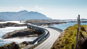 Route atlantique en Norvège Images stock