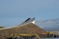Route atlantique, Norvège Images stock