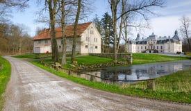 Route au château Photographie stock