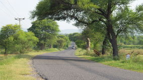 Route au choa images stock