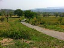 Route au choa de village photo libre de droits