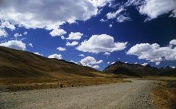 Route au ciel #1 image libre de droits