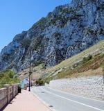 Route au Gibraltar Photo stock