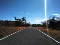 Route au paradis photo libre de droits