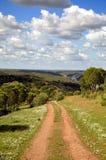 Route au paradis Image libre de droits