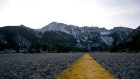 Route au passage de Tioga photographie stock libre de droits