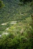 Route au point de vue scénique, parc national de Taroko Photo stock