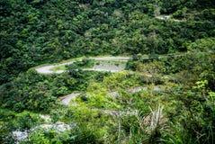 Route au point de vue scénique, parc national de Taroko Image stock