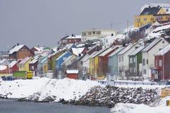 Route au port Image libre de droits