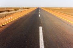 Route au Soudan Photographie stock libre de droits