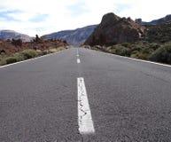 Route au volcan Photo libre de droits