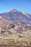 Route au volcan Photos stock