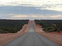Route australienne international l'intérieur illustration de vecteur