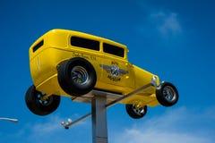 Route 66 -Automuseum royalty-vrije stock afbeeldingen
