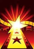 Route aux étoiles Images libres de droits