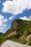 Route aux montagnes image libre de droits