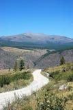 Route aux montagnes Photographie stock