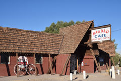 Route 66 Bagdad kafé, Newberry vårar Arkivfoto