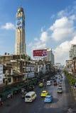 Route Bangkok de Ratchaprarop Images stock