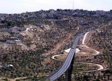 Route Beit Jala 2005 de Jérusalem Photographie stock