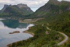 Route côtière Photos stock
